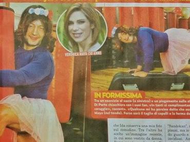 Davide Di Porto sempre più donna: mi scambiano per Veronica Maya ma io sono naturale