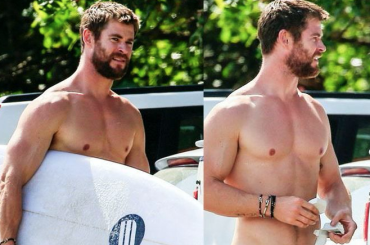 Chris Hemsworth versione sexy surfista – foto