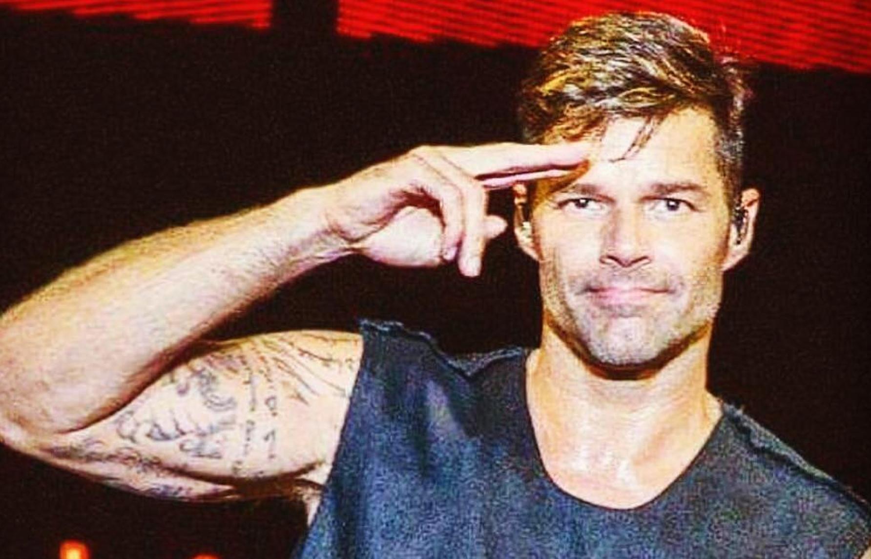 Ricky Martin sempre più gnocco su Instagram - foto