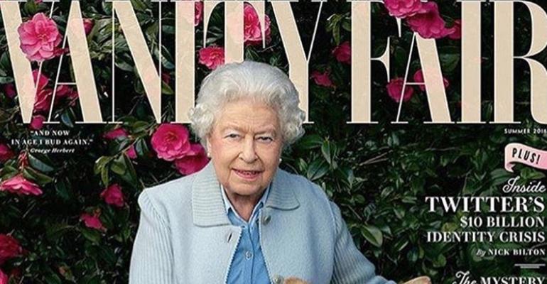 Regina Elisabetta II, 90 anni  firmati  Annie Leibovitz sulla cover di Vanity Fair