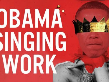 Work, anche Barack Obama canta Rihanna – video