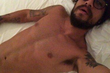 Daniel Osvaldo, selfie hot per l'ex attaccante di Juve e Roma