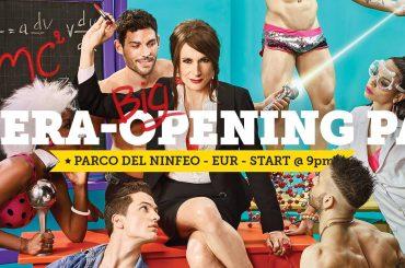 Gay Village 2016, Mara Venier madrina mentre Immanuel Casto e Romina Falconi cantano la sigla 'Who is Afraid of Gender?'