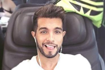 Marco Carta, primo costume Instagram del 2016