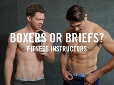 Boxer o mutande? Rispondono gli istruttori di fitness – video