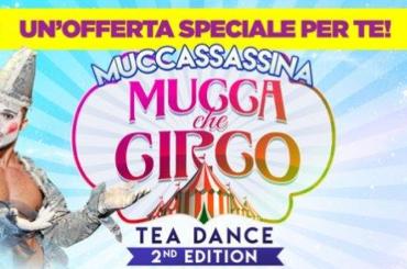 MUCCA che CIRCO, serata evento a RAINBOW MAGICLAND venerdì 8 luglio