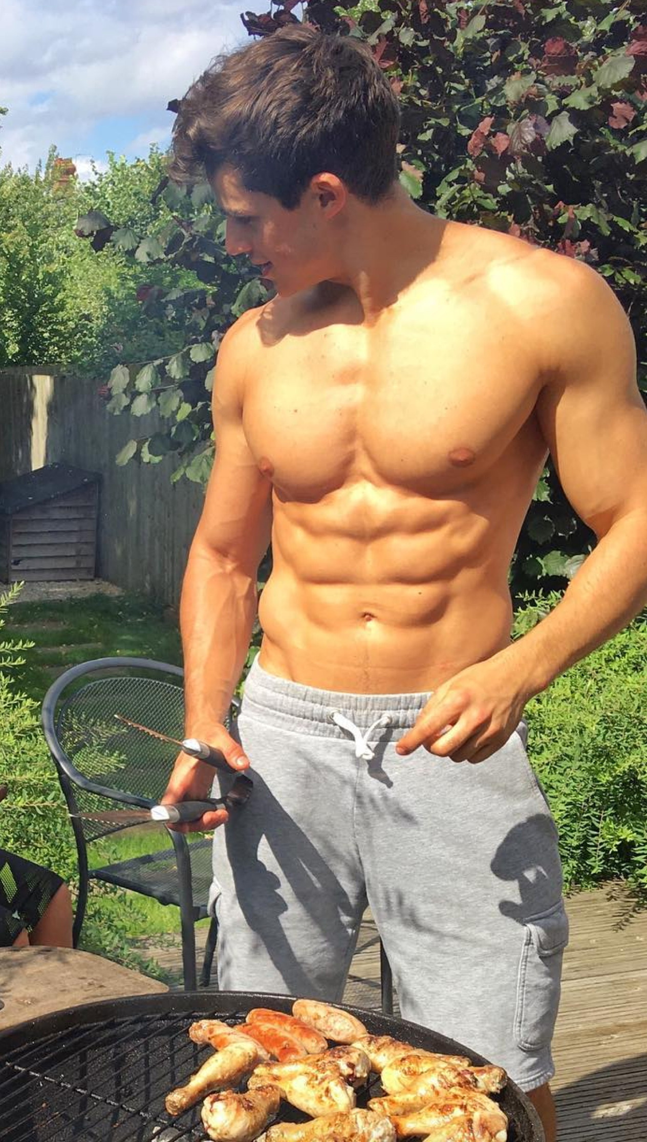 Patrick Mitchell | Fit Males Shirtless & Naked