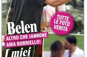 Belen bacia Marco Borriello – la copertina di CHI