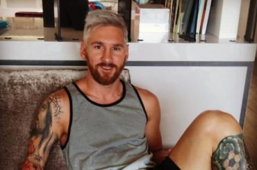Messi s'è fatto biondo
