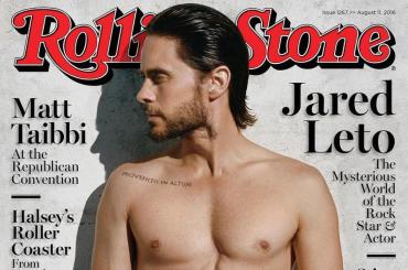 Jared Leto gnocco da paura sulla cover di Rolling Stone