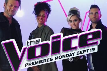 The Voice Usa, lo spot con le nuove giudici Miley Cyrus e Alicia Keys – video