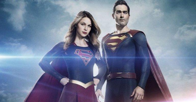 Tyler Hoechlin è Superman, chiappe da urlo sul set di Supergirl