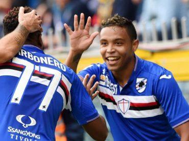 Sampdoria-Atalanta, rimmata in campo a Jacopo Sala per Muriel