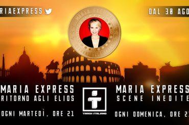 Maria Express 2, si parte il 30 agosto – i concorrenti