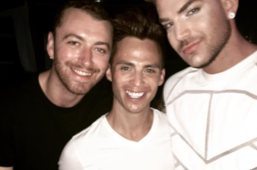 Adam Lambert e Sam Smith  in coppia a Mykonos – foto