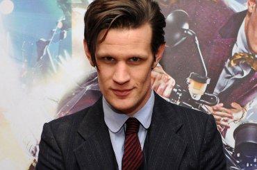 Matt Smith, Doctor Who è tutto nudo on line – le foto