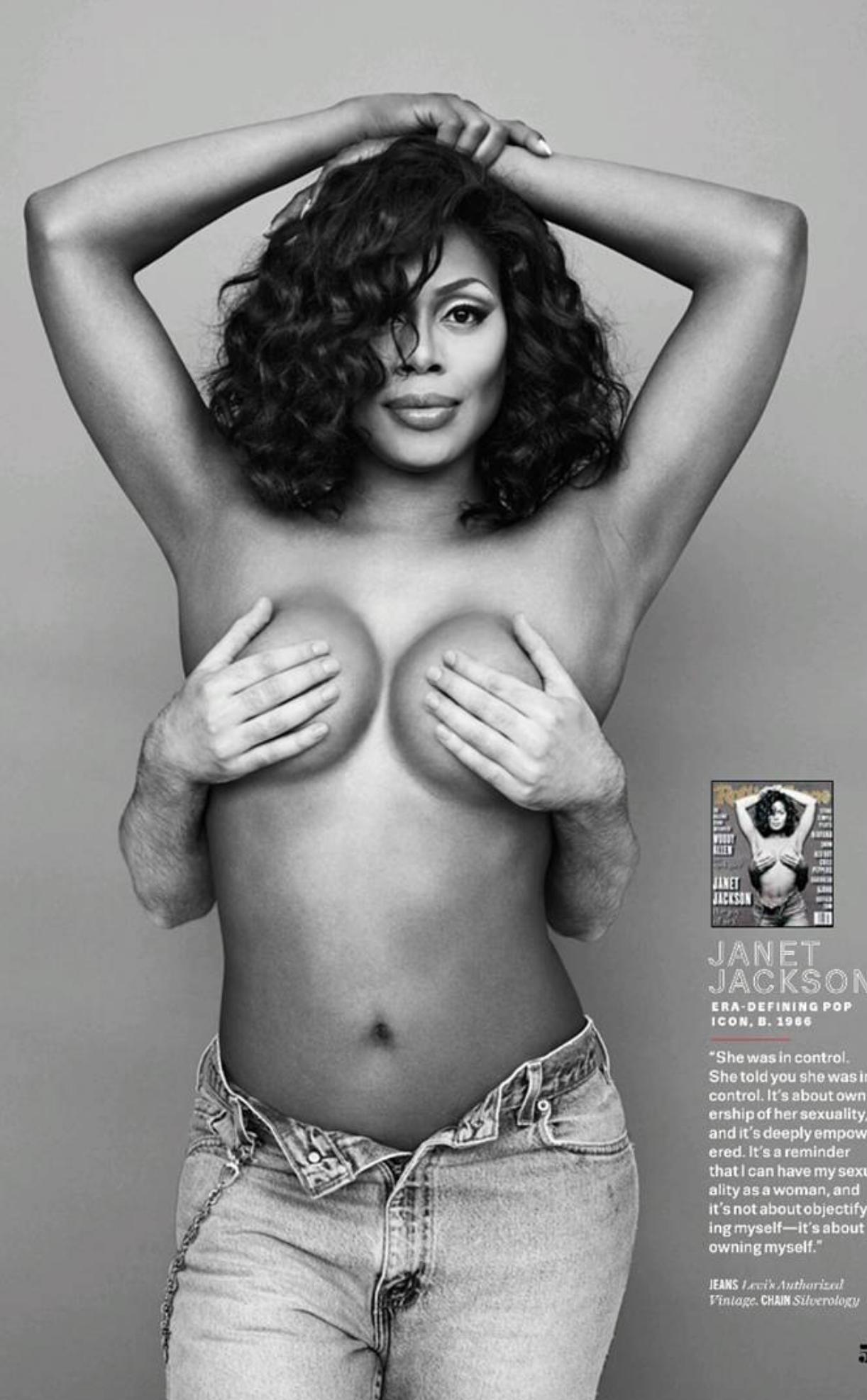 Janet jackson naked