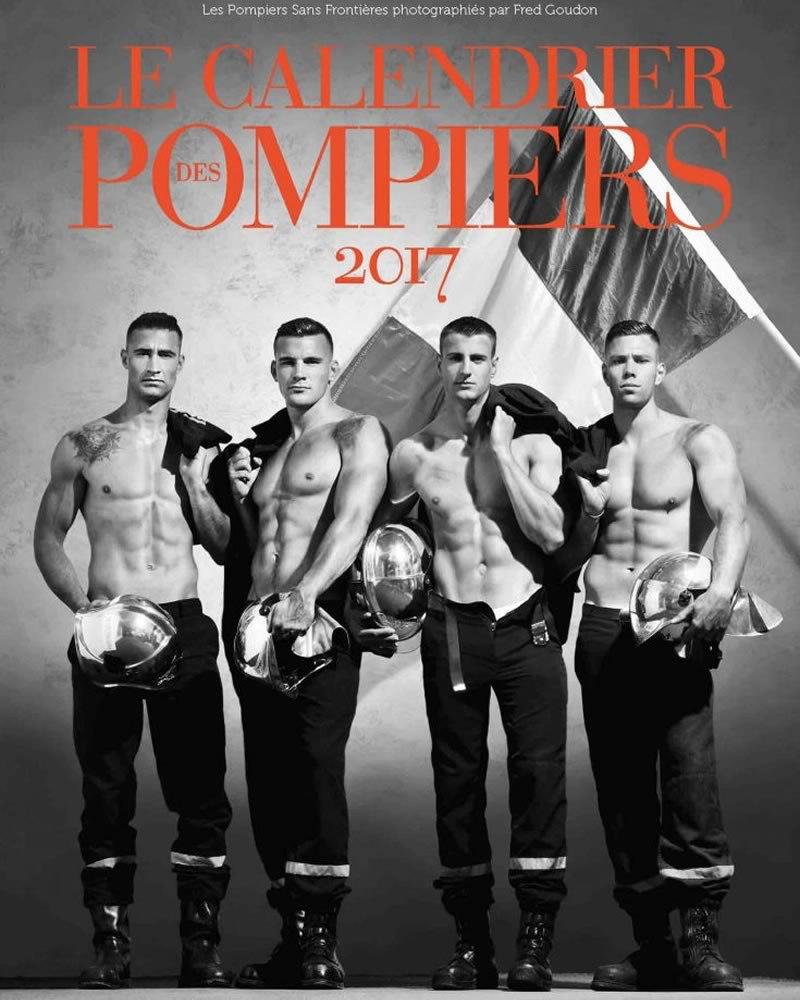 Pompieri francesi, il calendario hot del 2017 - prime immagini ...