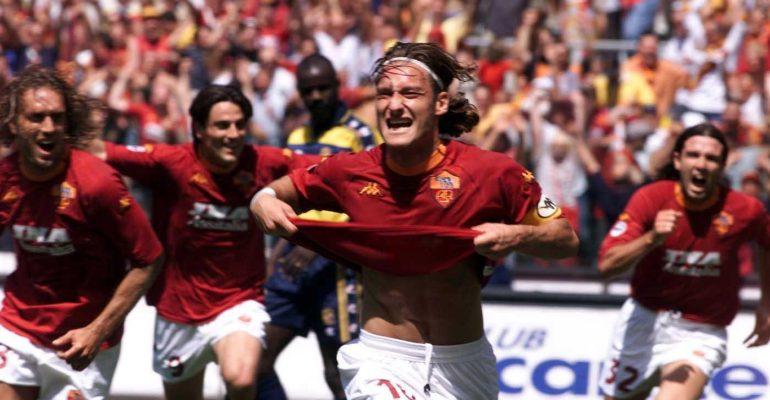25 anni di inarrivabile CALCIO, saluti a Francesco Totti (la gallery ormonale)