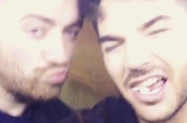 Sam Smith e Adam Lambert sempre più inseparabili – video