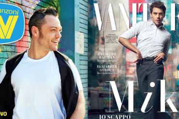 Mika e Tiziano Ferro sulle copertine di Vanity e Tv Sorrisi – edicole rainbow questa settimana