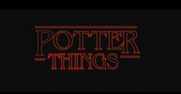 Potter Things, il video capolavoro che fa incrociare Harry Potter e Stranger Things