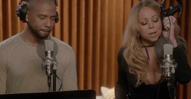 Empire, Mariah Carey canta Infamous con Jussie Smollett – il video