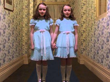 Halloween Vip 2016, Fedez e Fabio Rovazzi sono le gemelline di Shining – foto