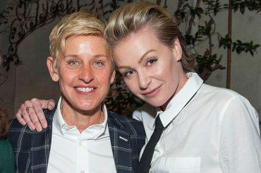 Ellen DeGeneres nega i rumor di crisi con Portia de Rossi: è l'amore della mia vita