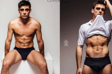 Chris Mears gnocco su Gay Times, tutte le foto