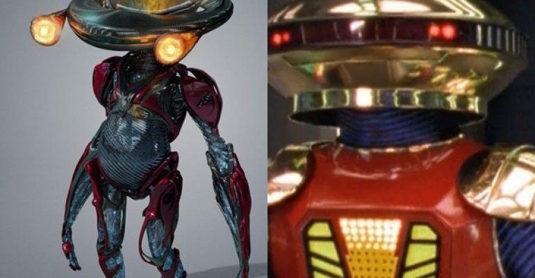 Power Rangers – il film, le foto del nuovo robot Alpha 5