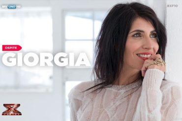 X-Factor, Giorgia live per la 2° puntata