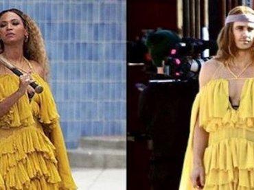 James Franco come Beyonce sul set del suo nuovo film – foto