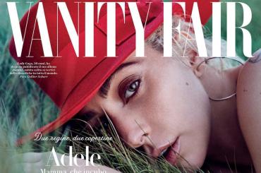 Vanity Fair Italia, doppia copertina per Lady Gaga e Adele