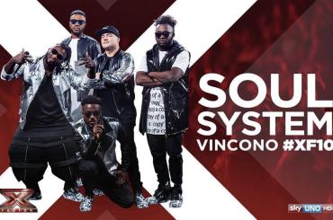 X-Factor 10, è trionfo Soul System (inizialmente scartati da Soler e ripescati dopo il 'caso' Jarvis)