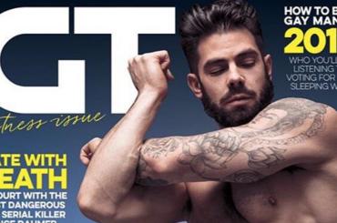 Gay Times, il pacco sberla di Charlie King sull'ultima copertina del 2016 – foto