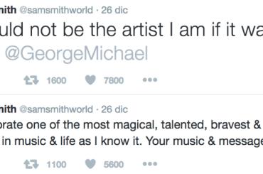 George Michael, Sam Smith interrompe il lungo silenzio social per ricordarlo: 'senza di te, non sarei mai diventato l'artista che sono'