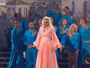 Tale e Quale Show RUSSIA omaggia RAFFAELLA CARRA' con Fatalità, video