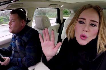 Il Carpool Karaoke di Adele è stato il video più visto dell'anno su Youtube – Top10