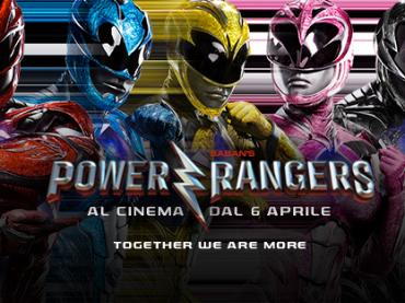 POWER RANGERS – il trailer ufficiale italiano