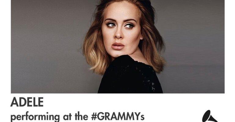 Grammy 2017, ufficiale il live di Adele