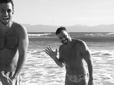 Ricky Martin e Jwan Yosef, Capodanno in famiglia – foto