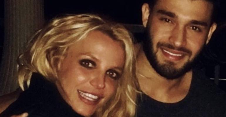 Britney Spears, Capodanno con Sam Asghari – foto