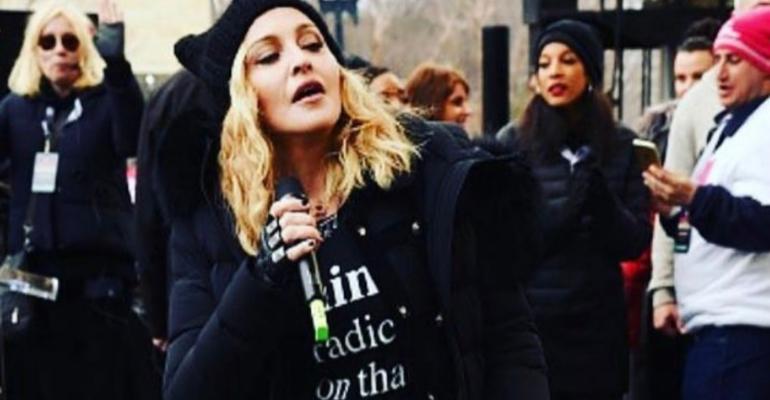Madonna chiarisce su Instagram dopo l'attacco alla Casa Bianca: 'la mia era una metafora'