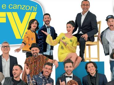 Sanremo 2017, la copertina ufficiale di Tv Sorrisi e Canzoni