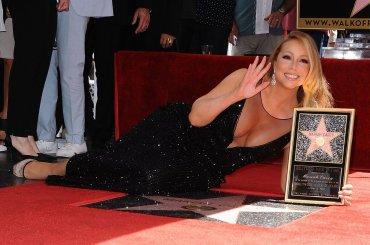 Mariah Carey, vandalizzata la stella sulla Walk of Fame