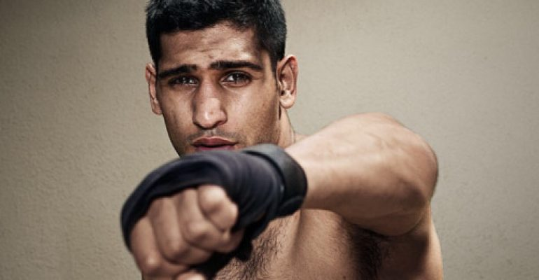 Amir Khan, on line video hard del campione di pugilato
