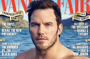 Chris Pratt bono sulla cover di Vanity Fair – foto