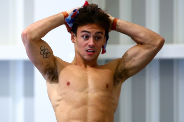 Tom Daley, on line parte di un video hard