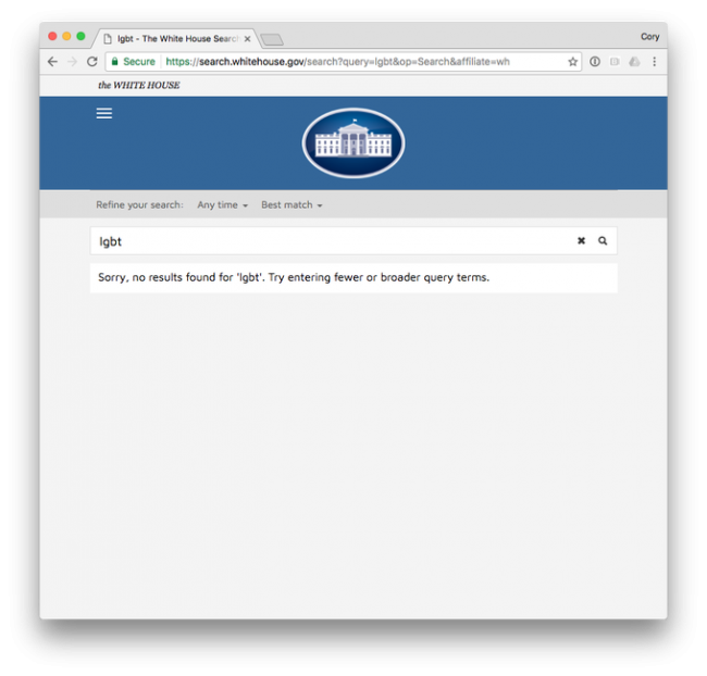 white house page lgbt full